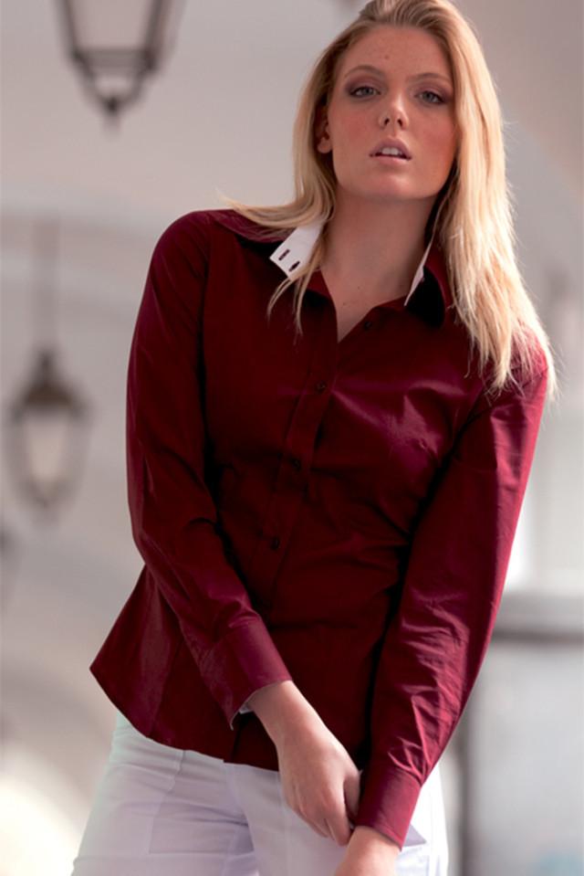 Camicia Donna Bicolore