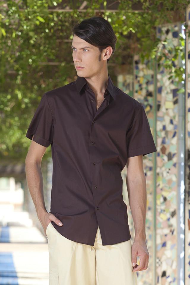 Camicia Sciancrata Uomo