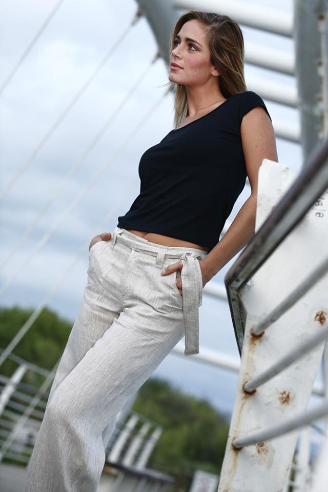 Pantalone Donna 100% Lino